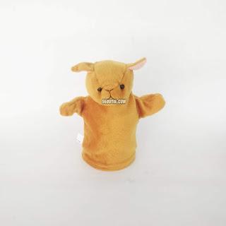 Boneka Tangan Hewan Kancil Animal Hand Puppets