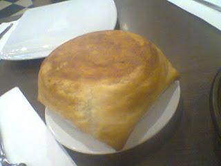 Menu pastry krim jamur