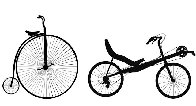 Gambar sepeda kuno