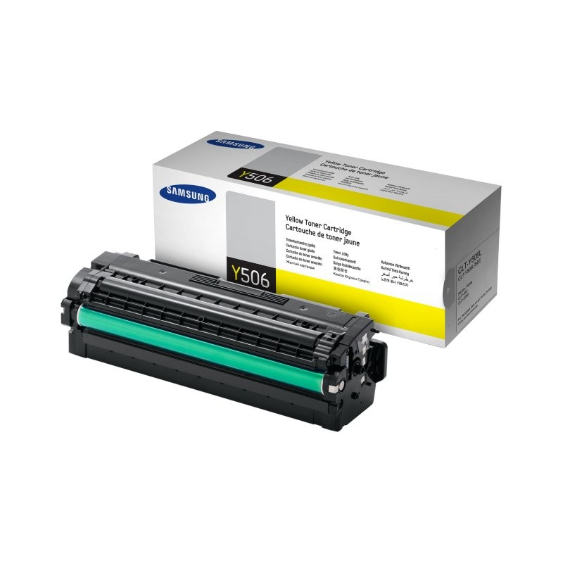 SAMSUNG YELLOW TONER CLT-Y506L/SEE