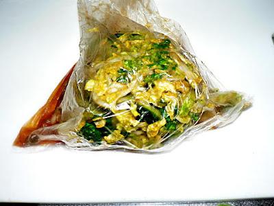 白菜を漬ける