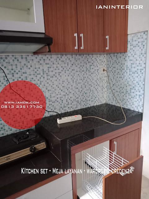 kitchen set minimalis citra garden sidoarjo