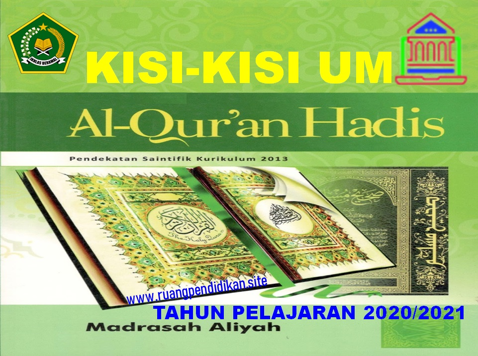 Kisi-kisi UM Al Qur'an Hadis Jenjang MA