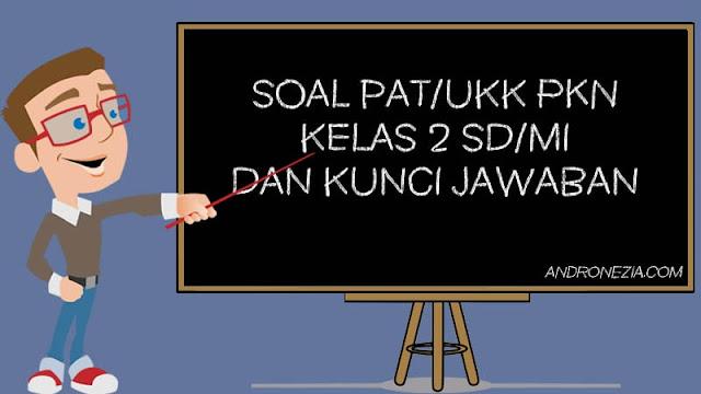 Soal PAT/UKK PKN Kelas 2 Tahun 2021