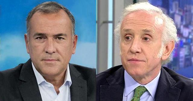 Xabier Fortes y Eduardo Inda