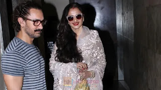 why aamir khan has naver worked with rekha