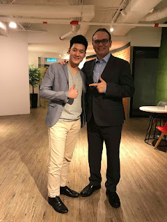 Alaric Ong with Mitch Carson