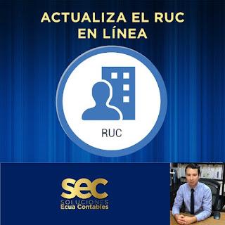 ¿Cómo actualizar el RUC por Internet?