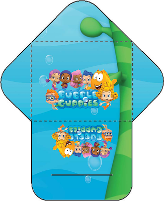 Divertidos Imprimibles Gratis para Fiesta de Bubble Guppies.