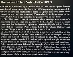 Story of Le Chat Noir the cabaret in Paris
