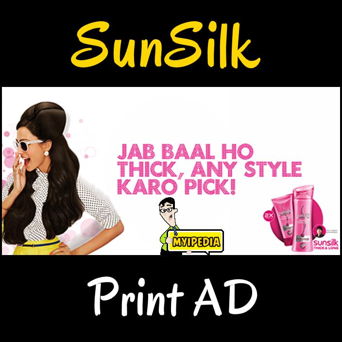 Sunsilk Thick & Long Print AD 2014   Myipedia   TVC, Entertainment