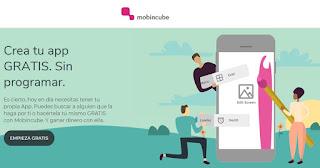 Mobincube, crea Apps gratis y gana dinero
