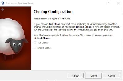 clone virtualbox