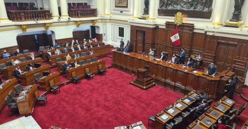 CONGRESO DE LA REPÚBLICA: Lista de 24 Comisiones Legislativas