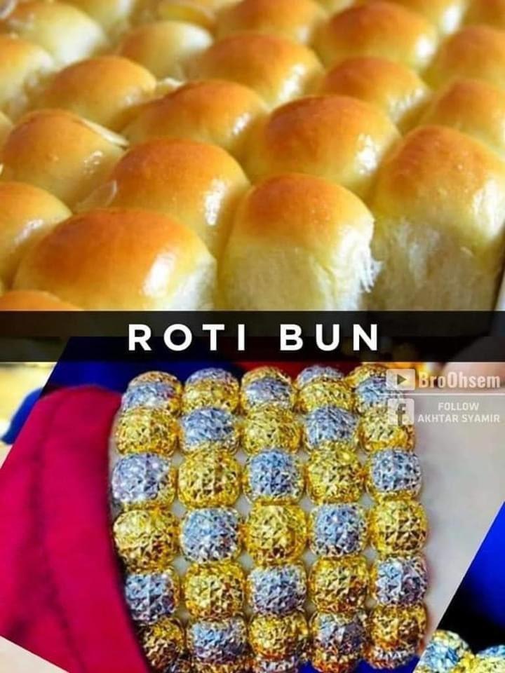 Gelang Emas Roti Bun