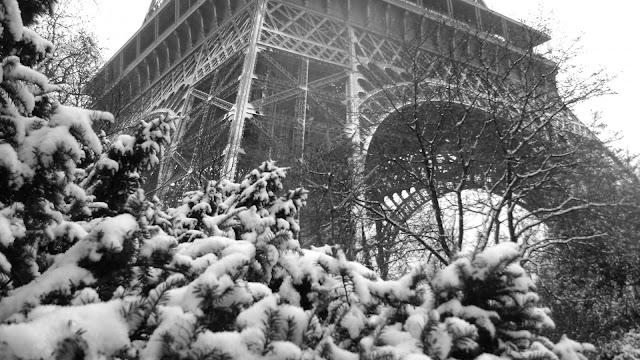 Clima de inverno em Paris