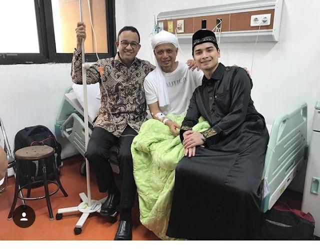Ustadz Arifin Ilham Kembali Dirawat di RSCM, Postingan Dua Anaknya Bikin Bangga