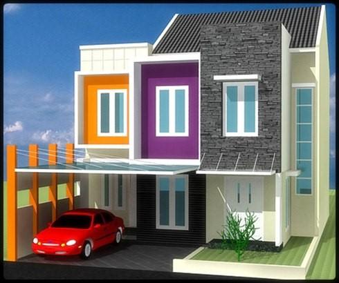 model rumah minimalis 2 lantai 5