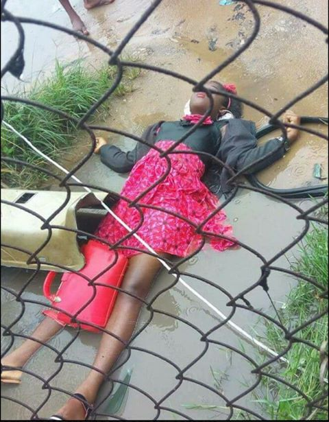 SO SAD ! Female Student Electrocuted by High Tension Cable in Rivers State University (Photo)