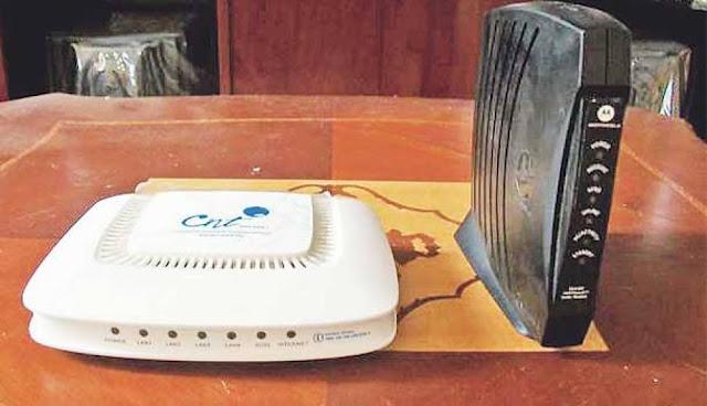 Router ADSL hogar oficina