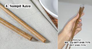 Sumpit Kayu merupakan salah satu hadiah untuk cewek yang doyan makan