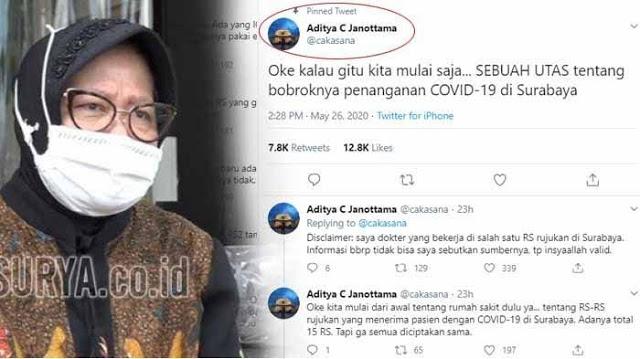Dokter Pembongkar Kebobrokan Penanganan Corona di Surabaya akan Dihukum