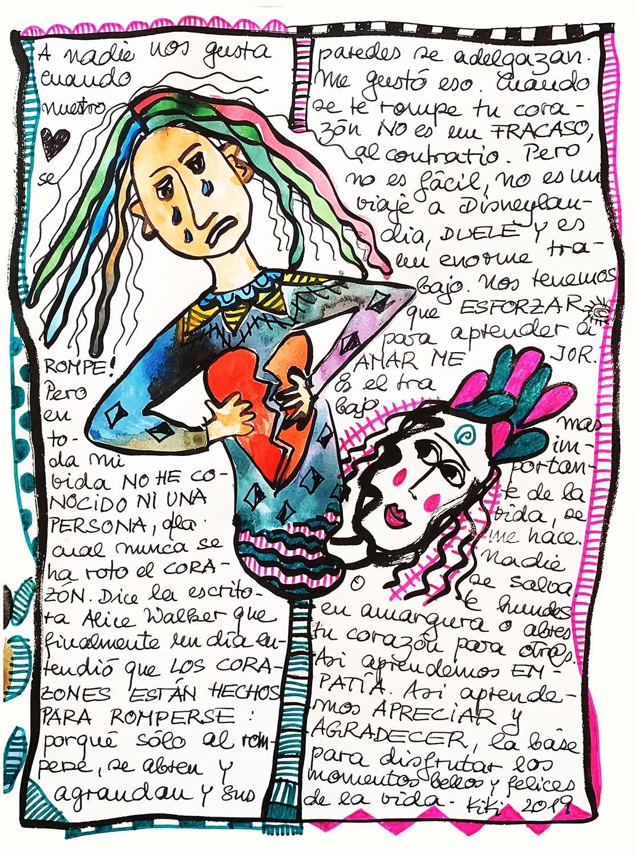 Kikimundo Kikis World Haiku Haiga Porbyvon Kiki