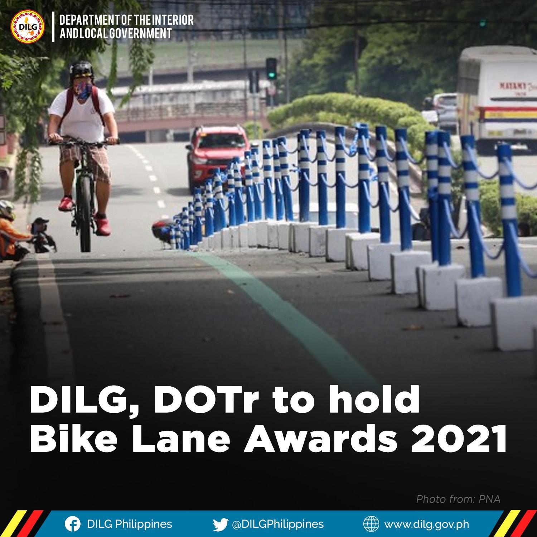 DILG, DOTr to hold Bike Lane Awards 2021