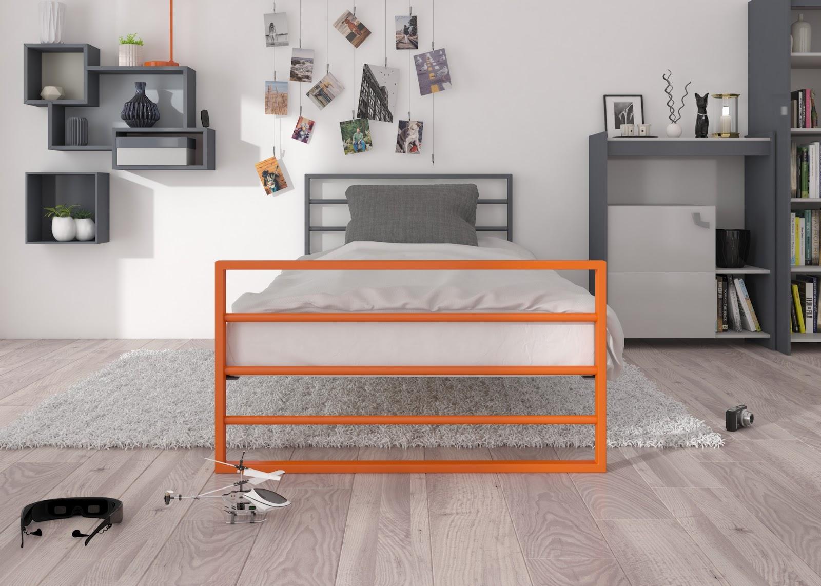 Łóżko młodzieżowe wzór 7