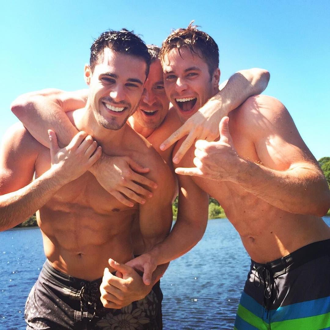cute-happy-shirtless-gay-best-buddies-fun-summer-water