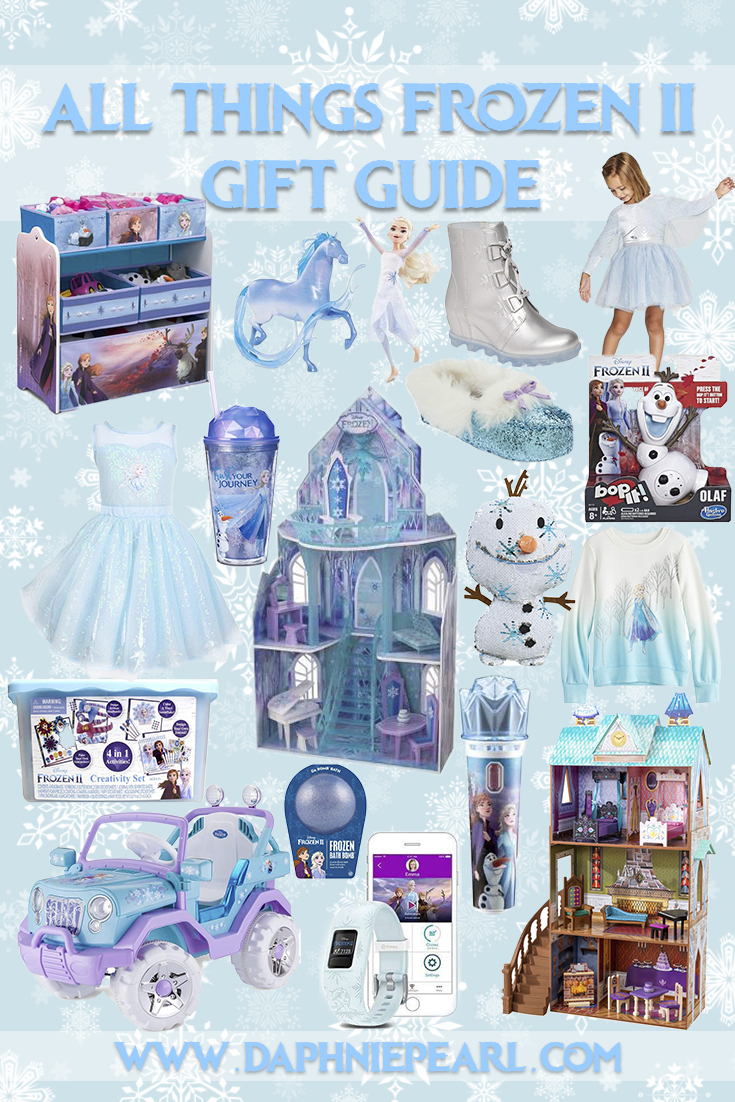 All Things Frozen 2 Gift Guide- Just in Time for the Holidays!  Frozen Present Frozen II Gift Frozen 2 Christmas Gifts Presents Shopping Stores Disney Frozen Disney's Frozen Disney Frozen II Disney Frozen 2 Disney's Frozen 2  Anna Elsa Olaf Sven Christoph Top Toys Holiday Toys Frozen Toys Christmas Toys Toy Doll Bath Bomb Craft Doll House Ride On Powerwheel Garmin Vivofit Elsa Dress Anna Dress Costume Dress Up Furniture Blanket Shoe Shirt Slippers Sorel Boots Sneakers Bop It Games Board Game Barbie