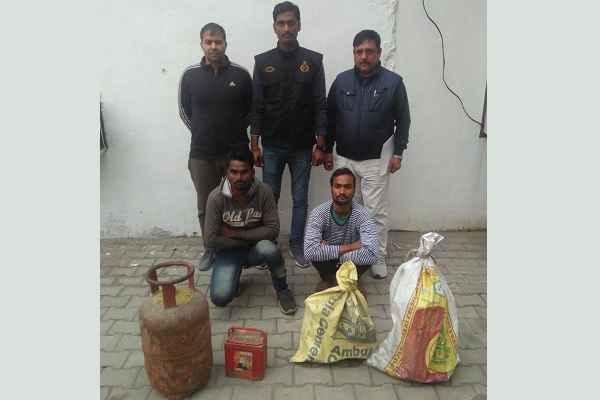 faridabad-crime-branch-sector-65-arrested-2-chor