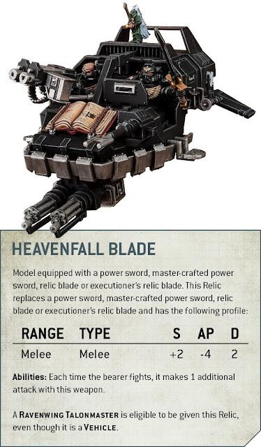 Heavenfall Blade Ángeles Oscuros