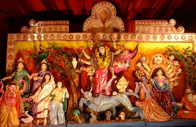 नवरात्र-दशहरे के रंग बच्चों के संग