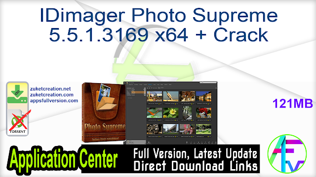 IDimager Photo Supreme 5.5.1.3169 x64 + Crack