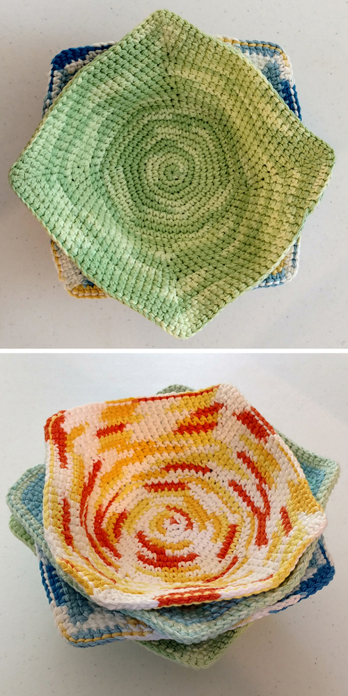 Bowl Cozy Hot Pad - Free Pattern