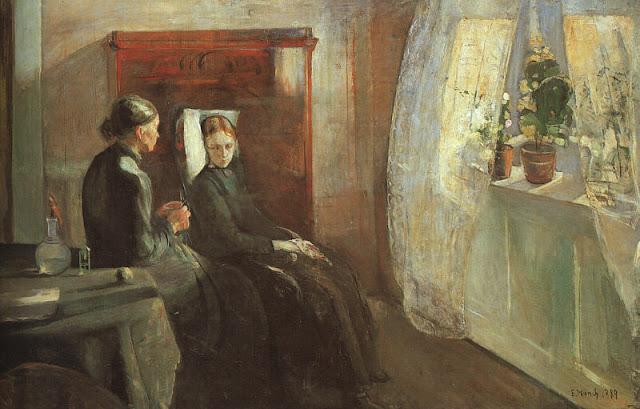Эдвард Мунк - Весна. 1889