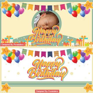 Banner Spanduk Selamat Ulang Tahun