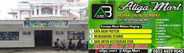 A3 Mart Lounching Perdana, Bangun Kemitraan Dengan Istana Sayur Lampoko