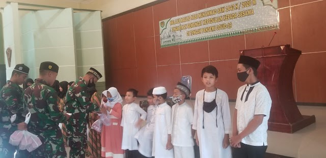 Peringati Maulid Nabi , Raider 301/PKS Gelar Aksi Peduli Anak Yatim