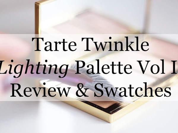 Tarte Twinkle Lighting Palette Vol. II | Review & Swatches