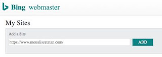 Submit Sitemap Di Bing Webmaster Tools