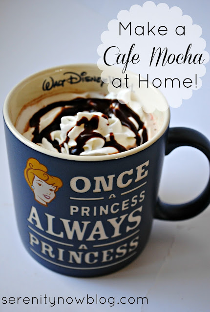 How to Make a Cafe Mocha at Home (pantry ingredients) from Serenity Now