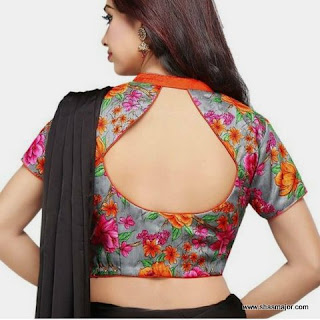 latest blouse designs for back