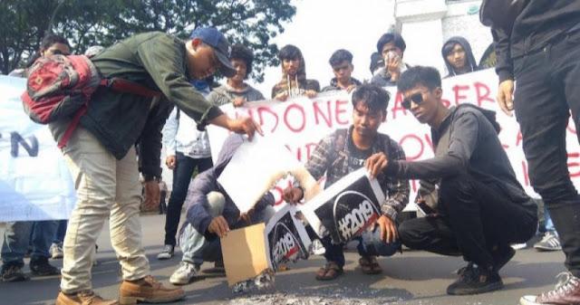 Pengamat UI Bandingkan Aksi Mahasiswa Riau dengan Aksi Bakar Hastag #2019GantiPresiden
