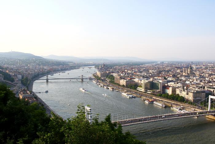 Budapest, Tonava, Danube, city view