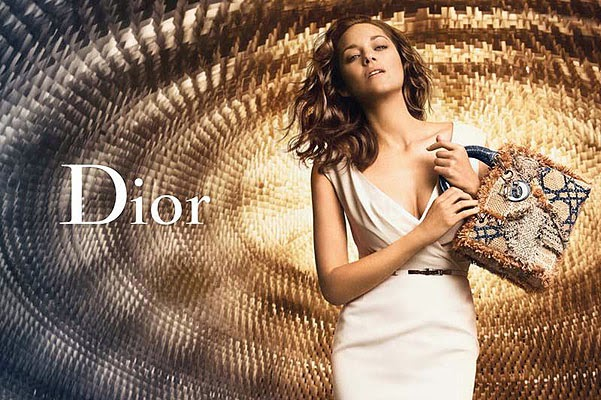 Marion Cotillard for the Lady Dior
