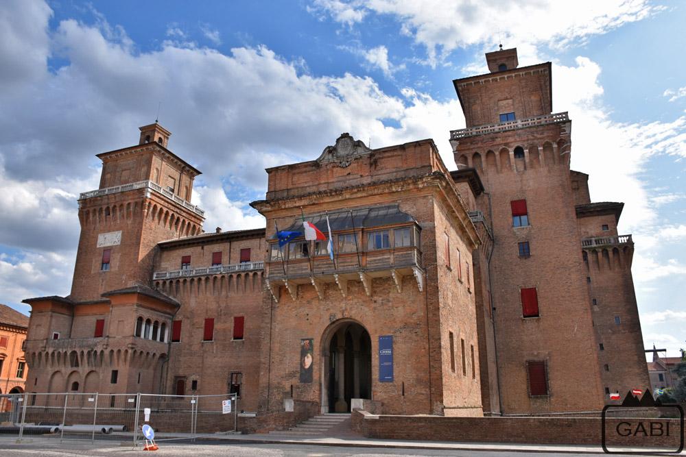 Włochy, Ferrara - zamek