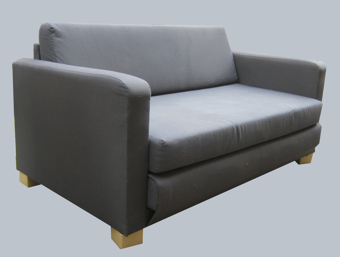 Convertible Chair Bed Ikea Black Rattan Uhuru Furniture And Collectibles Loveseat