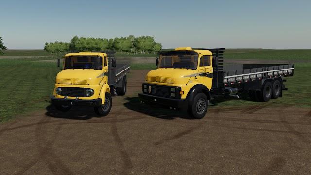 Lizard T (Mercedes-Benz 1313, 1513 e 1518) e Carrocerias PC/Mac - XB1/PS4 v1.0.0.1